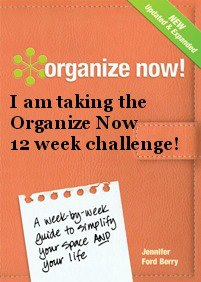 Organize Now 12 Week Challenge by Author-Organizer Jennifer Ford Berry