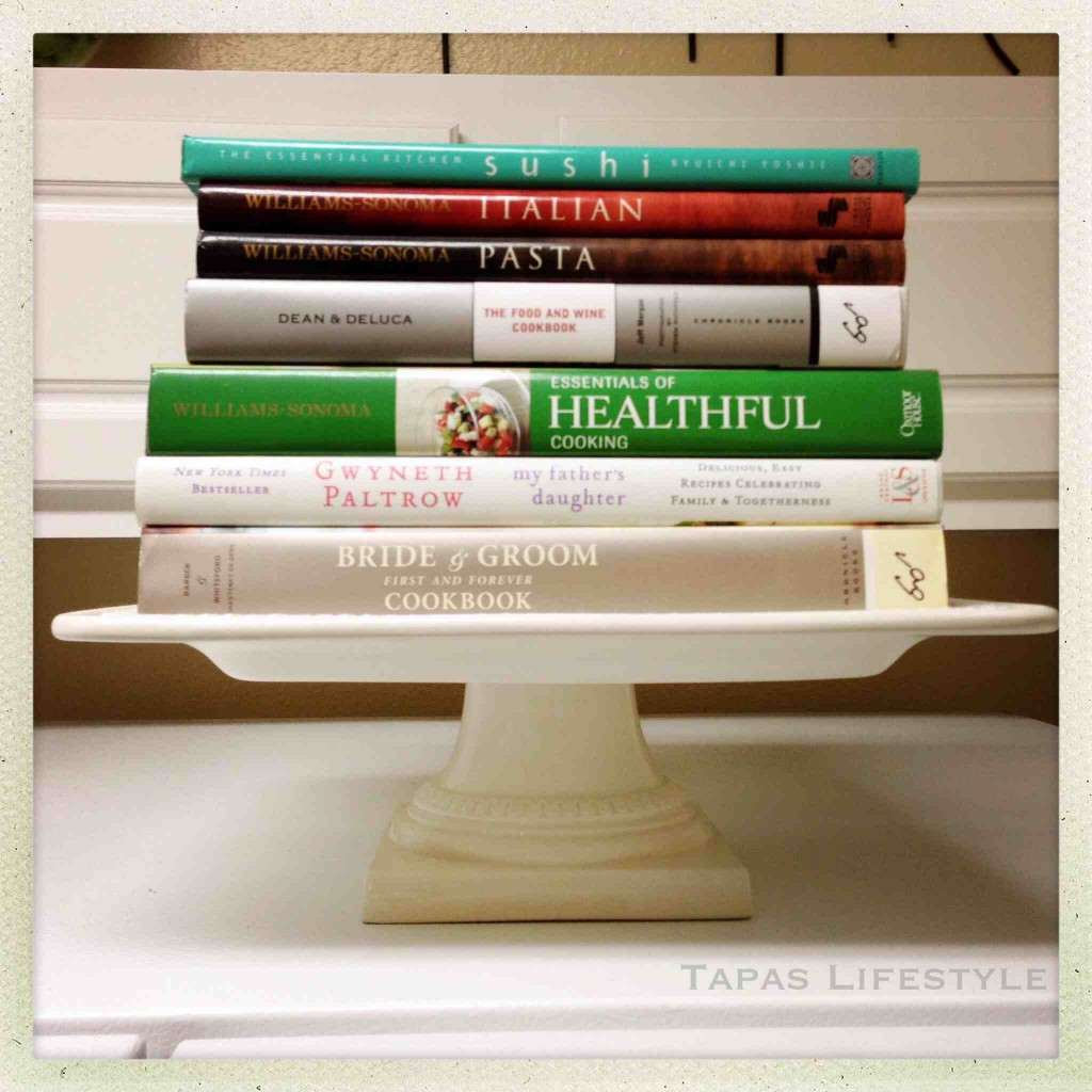 Cookbooks in our Kitchen