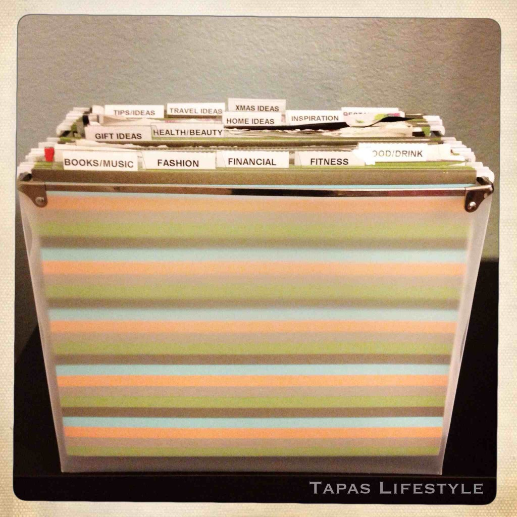 Organized Magazine Articles - Mobile File Unit