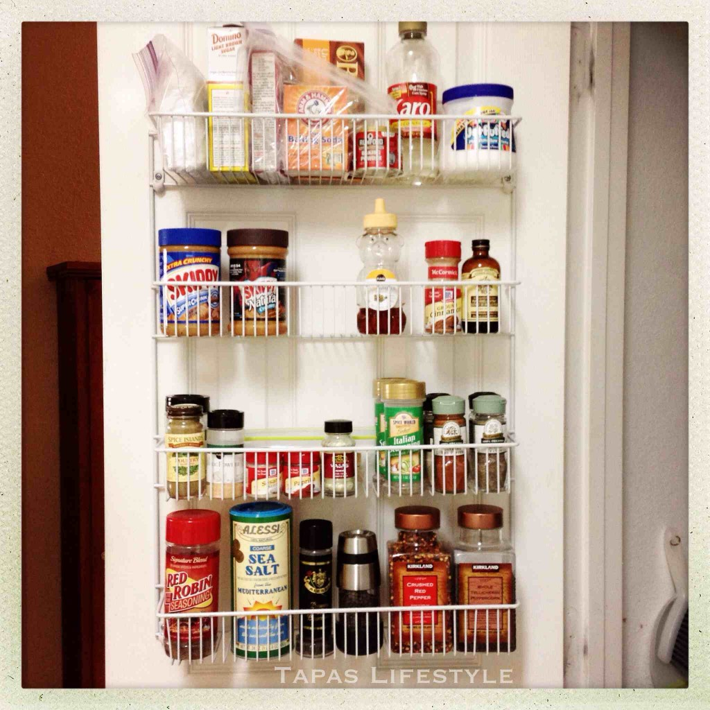 Back of the Door Pantry Organzier