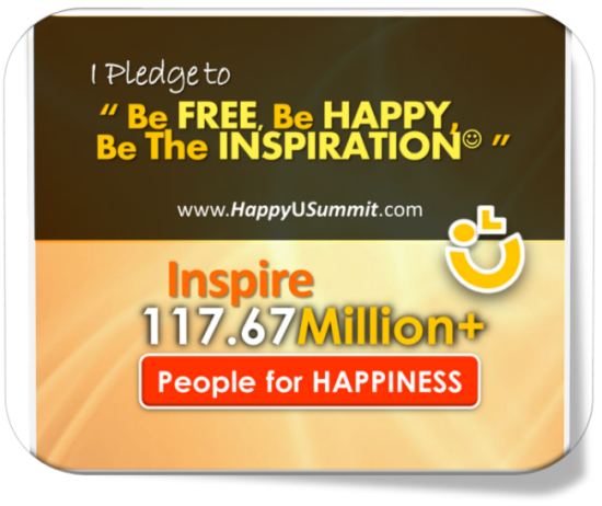 HappyUPledge - Happy U Summit 2013