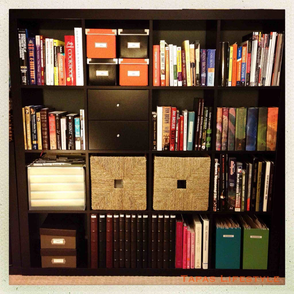 Ikea Expedit Shelving Unit in our Office