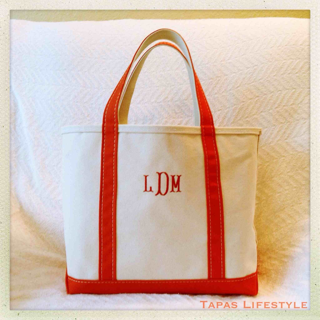 I love my L.L. Bean Boat and Tote Bag - Keeps my current reading material portable
