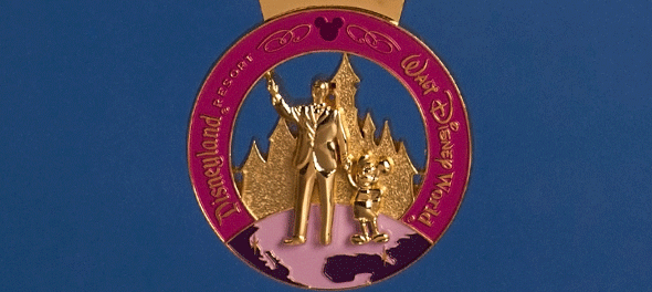 Special Edition Coast-to-Coast Race Challenge Medal