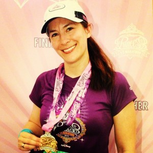 2013 - 5th Anniversary Disney Princess Half Marathon - Perfect Princess for running all 5 Disney Princess Half Marathons