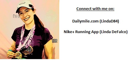 Connect with me on Dailymile.com & Nike+ Runninig App