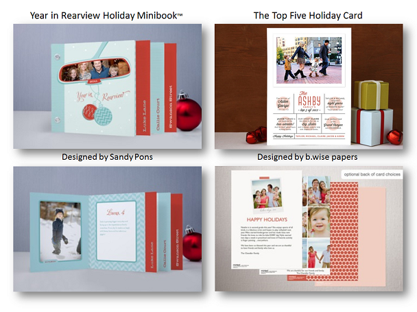 Minted.com - Christmas Cards Collection - Year in Review