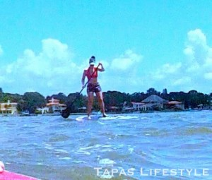 Paddleboarding in St. Petersburg, FL with NinjaFit Paddleboarding Co.