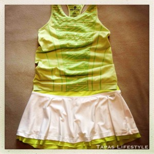 Tinker Bell Inspired Running Outfit
