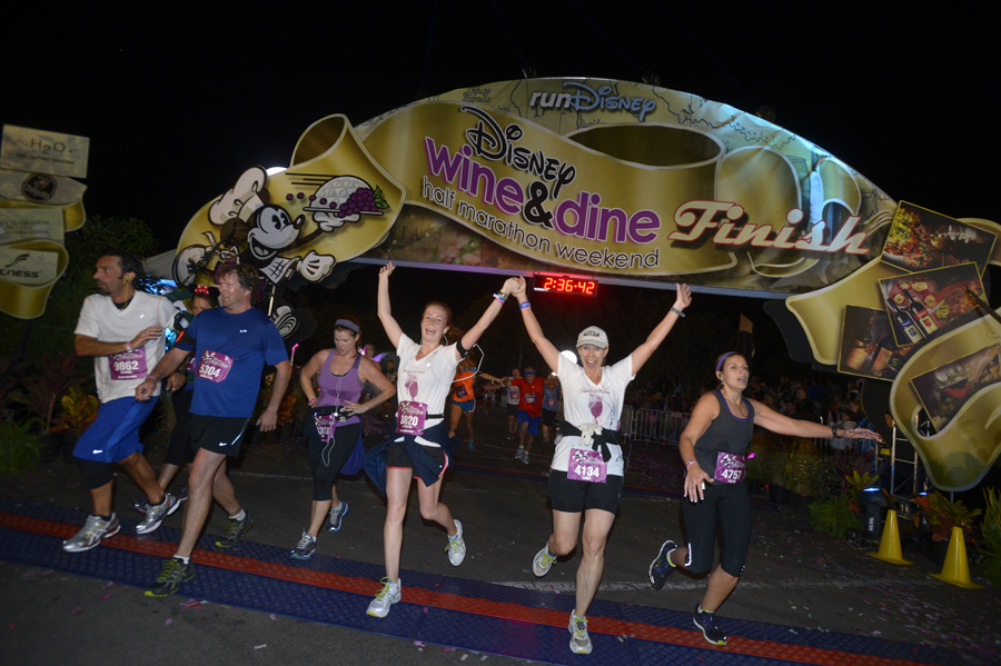 Wine and Dine Half Marathon Weekend - Photo via Disney Parks Blog Website