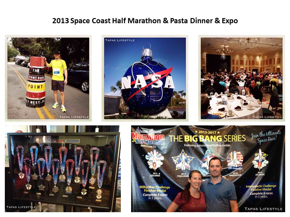 2013 Space Coast Half Marathon - Pasta Dinner - Expo