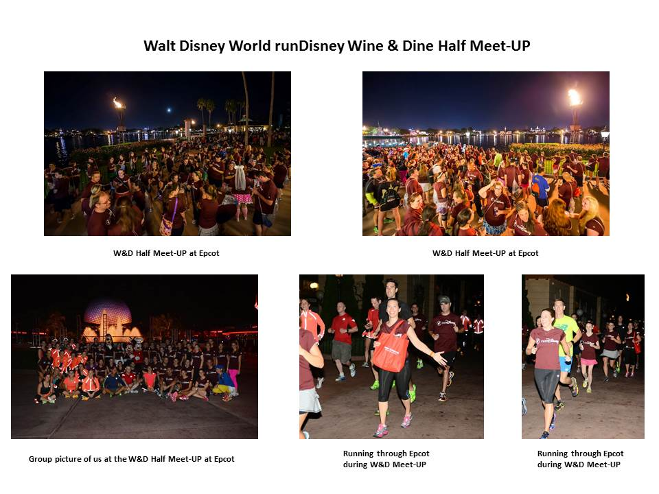 runDisney Wine & Dine Half Marathon Meet-UP - 2013