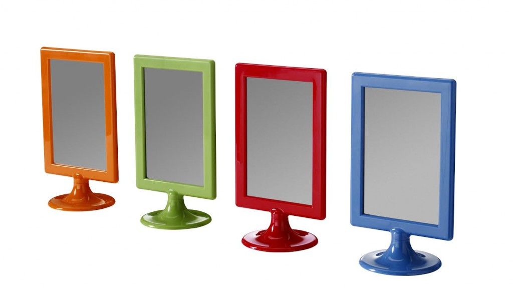IKEA - TOLSBY - Picture Frames - You can display one picture on each side as the frame has no back panel - {photo & description via IKEA}