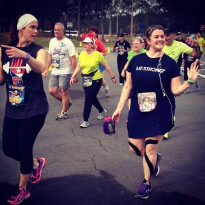 Jennifer Crowley - participating in the runDisney Dopey Challenge a 4 days 48.6 miles to help raise money for Me Strong