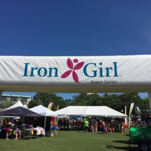 Iron Girl Event Series Packet Pickup
