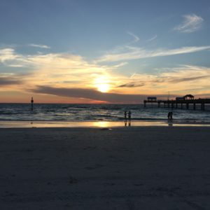 Walk on Clearwater Beach