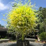Three Graces Tower, 2014 - Dale Chihuly - Atlanta Botanical Gardens Installation No. 11