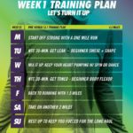 Nike Women 13.1 12-Week Training Plan